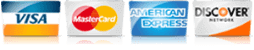 For AC in Fredericksburg VA, we accept most major credit cards.